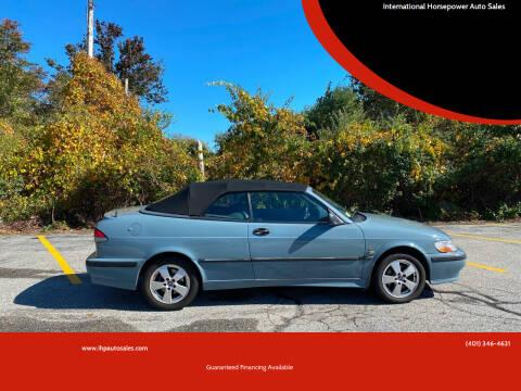 2003 Saab 9-3 for sale at International Horsepower Auto Sales in Warwick RI
