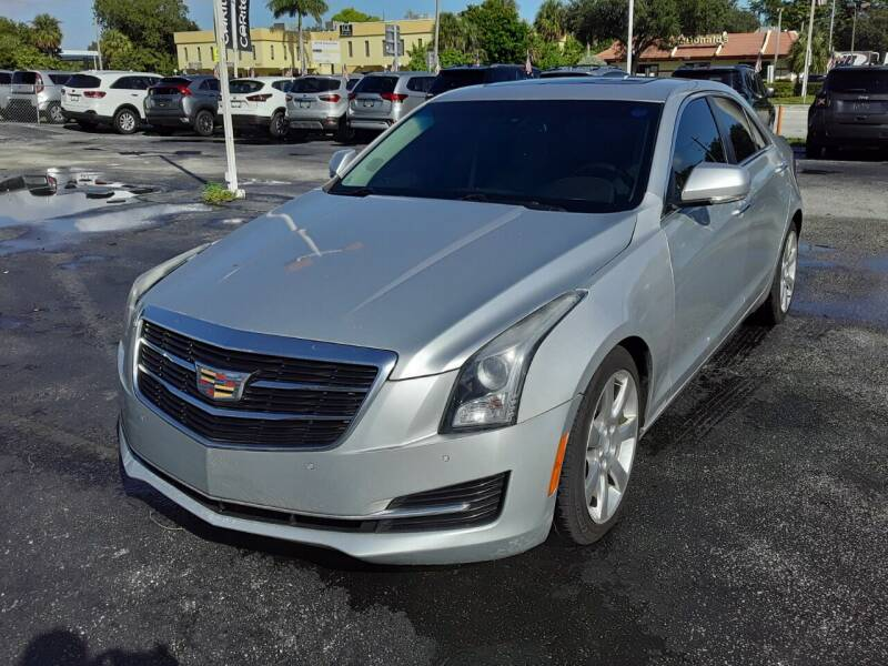 2016 Cadillac ATS for sale at YOUR BEST DRIVE in Oakland Park FL