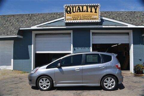 2009 Honda Fit for sale at Quality Pre-Owned Automotive in Cuba MO