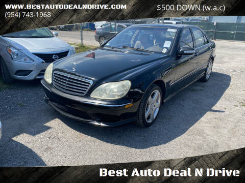 2004 Mercedes-Benz S-Class for sale at Best Auto Deal N Drive in Hollywood FL