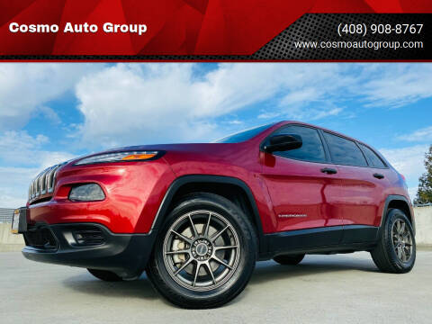 2015 Jeep Cherokee for sale at Cosmo Auto Group in San Jose CA