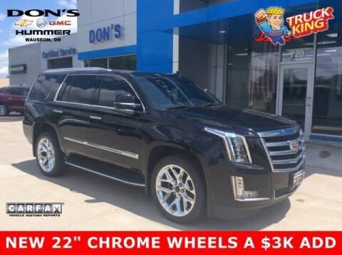 2016 Cadillac Escalade for sale at DON'S CHEVY, BUICK-GMC & CADILLAC in Wauseon OH