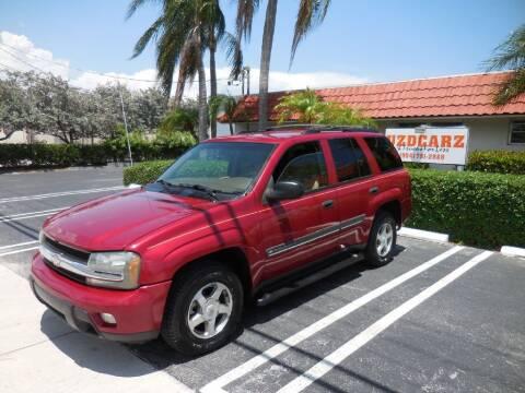 2002 Chevrolet TrailBlazer for sale at Uzdcarz Inc. in Pompano Beach FL