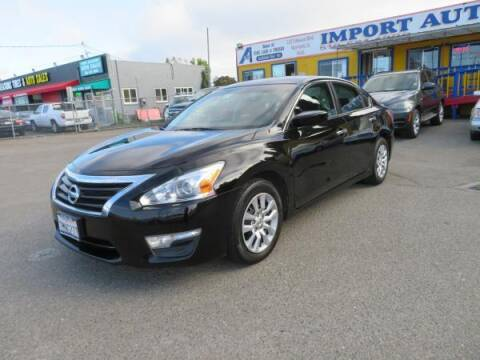 2015 Nissan Altima for sale at Import Auto World in Hayward CA