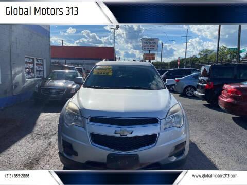 2011 Chevrolet Equinox for sale at Global Motors 313 in Detroit MI