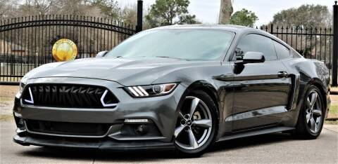 2016 Ford Mustang for sale at Texas Auto Corporation in Houston TX