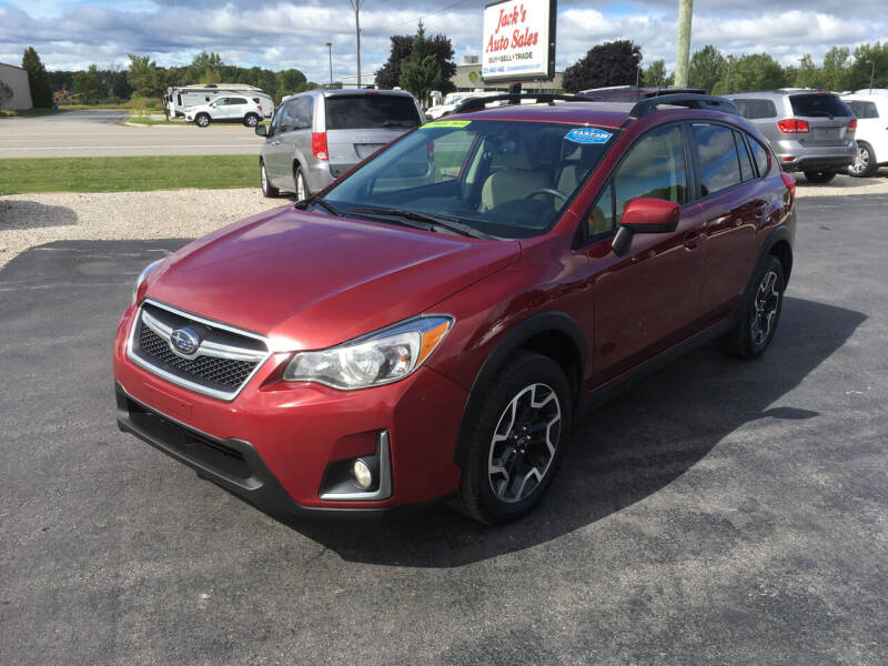 2016 Subaru Crosstrek for sale at JACK'S AUTO SALES in Traverse City MI