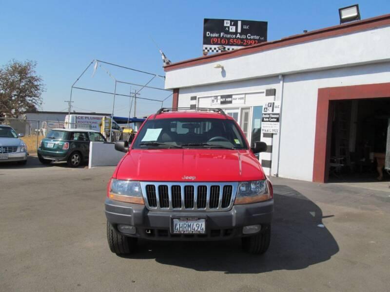 2000 Jeep Grand Cherokee for sale at Dealer Finance Auto Center LLC in Sacramento CA