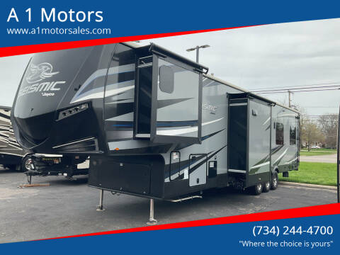 2018 Seismic Toy Hauler for sale at A 1 Motors in Monroe MI