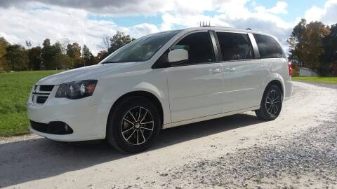 2017 Dodge Grand Caravan for sale at Pittsford Automotive Center in Pittsford VT