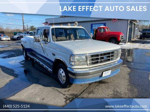 1993 Ford F-350 for sale at Lake Effect Auto Sales in Chardon OH