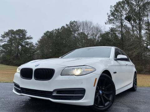 2014 BMW 5 Series for sale at Global Pre-Owned in Fayetteville GA