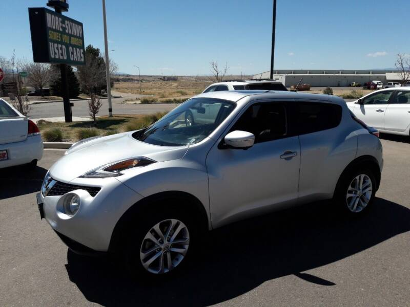 2016 Nissan JUKE for sale at More-Skinny Used Cars in Pueblo CO