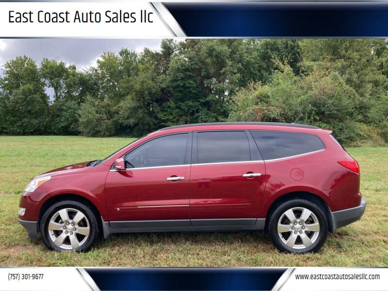 2010 Chevrolet Traverse for sale at East Coast Auto Sales llc in Virginia Beach VA