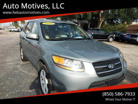 2009 Hyundai Santa Fe for sale at Auto Motives, LLC in Fort Walton Beach FL