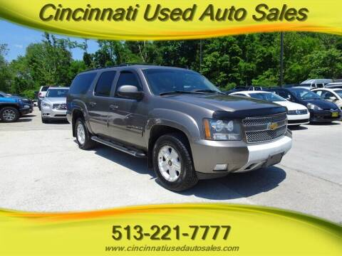 2011 Chevrolet Suburban for sale at Cincinnati Used Auto Sales in Cincinnati OH