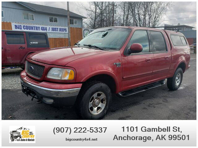 2002 Ford F-150 for sale at Big Country Auto in Anchorage AK