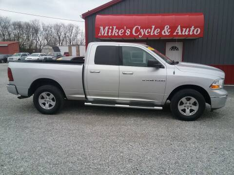 2011 RAM Ram Pickup 1500 for sale at MIKE'S CYCLE & AUTO in Connersville IN