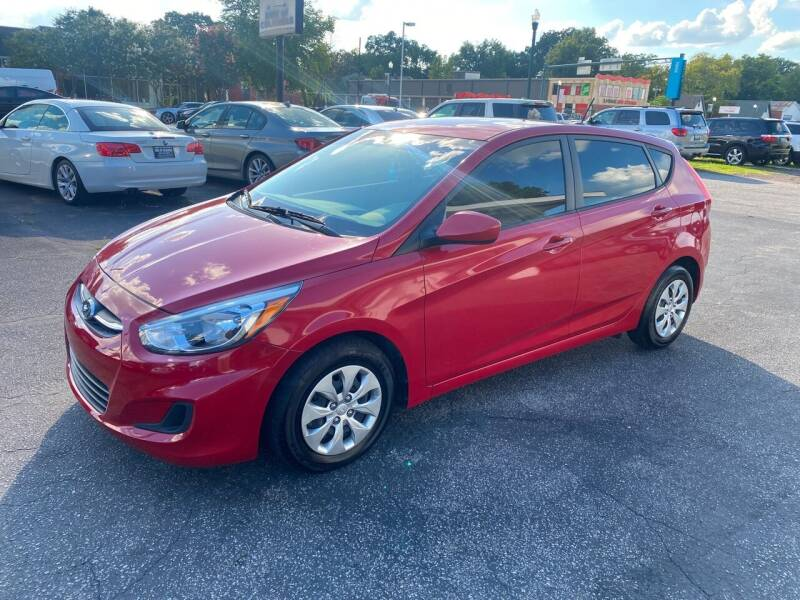 2017 Hyundai Accent for sale at BWK of Columbia in Columbia SC