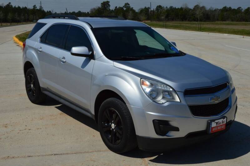 2013 Chevrolet Equinox for sale at Fincher's Texas Best Auto & Truck Sales in Tomball TX
