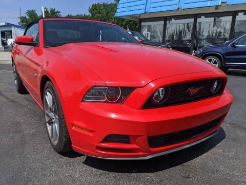 2013 Ford Mustang for sale at GREAT DEALS ON WHEELS in Michigan City IN