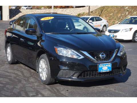 2017 Nissan Sentra for sale at VILLAGE MOTORS in South Berwick ME