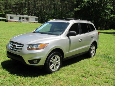 2011 Hyundai Santa Fe for sale at White Cross Auto Sales in Chapel Hill NC
