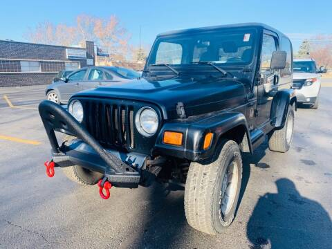 2000 Jeep Wrangler for sale at Quality Auto Sales And Service Inc in Westchester IL