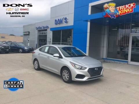 2020 Hyundai Accent for sale at DON'S CHEVY, BUICK-GMC & CADILLAC in Wauseon OH