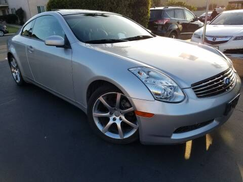 2004 Infiniti G35 for sale at Trini-D Auto Sales Center in San Diego CA