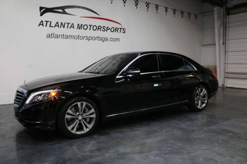 2014 Mercedes-Benz S-Class for sale at Atlanta Motorsports in Roswell GA