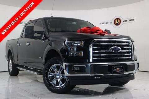 2017 Ford F-150 for sale at INDY'S UNLIMITED MOTORS - UNLIMITED MOTORS in Westfield IN