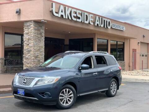 2015 Nissan Pathfinder for sale at Lakeside Auto Brokers in Colorado Springs CO