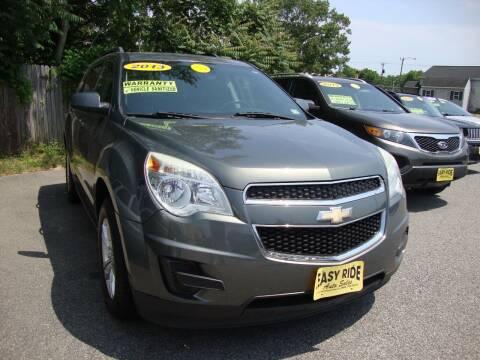 2013 Chevrolet Equinox for sale at Easy Ride Auto Sales Inc in Chester VA