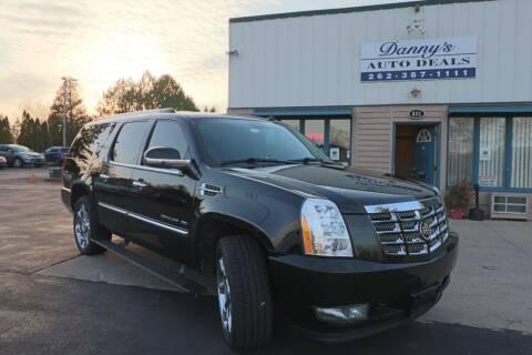 2011 Cadillac Escalade ESV for sale at Danny's Auto Deals in Grafton WI