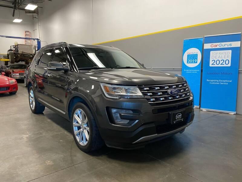 2017 Ford Explorer for sale at Loudoun Motors in Sterling VA