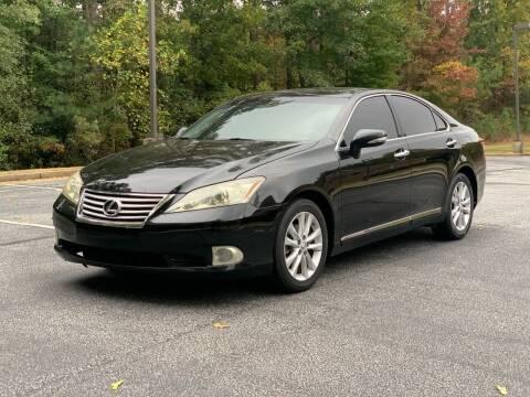 2010 Lexus ES 350 for sale at Top Notch Luxury Motors in Decatur GA
