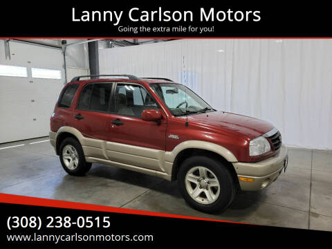 2003 Suzuki Grand Vitara for sale at Lanny Carlson Motors in Kearney NE