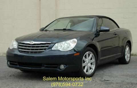 2008 Chrysler Sebring for sale at Salem Motorsports in Salem MA