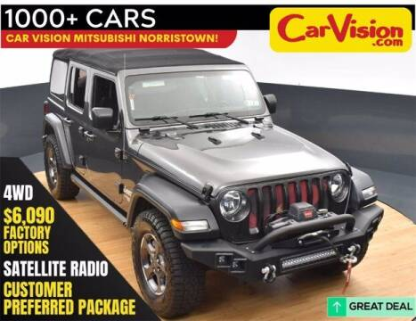 2018 Jeep Wrangler Unlimited for sale at Car Vision Buying Center in Norristown PA