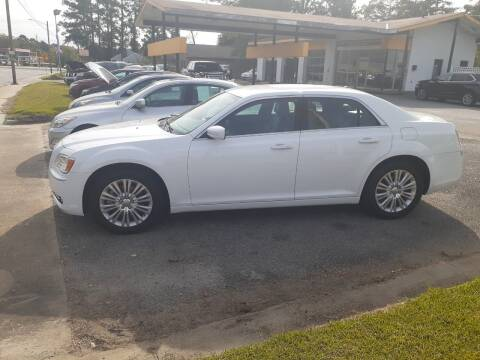 2013 Chrysler 300 for sale at PIRATE AUTO SALES in Greenville NC