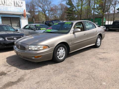 2004 Buick LeSabre for sale at Lucien Sullivan Motors INC in Whitman MA
