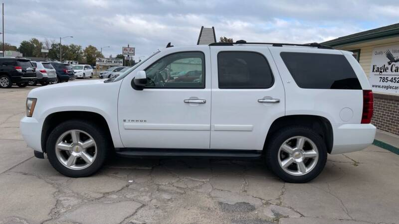 2007 Chevrolet Tahoe for sale at Eagle Care Autos in Mcpherson KS