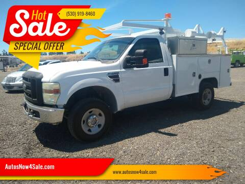 2008 Ford F-350 Super Duty for sale at AUCTION SERVICES OF CALIFORNIA in El Dorado CA