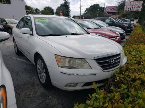 2009 Hyundai Sonata for sale at Mike Auto Sales in West Palm Beach FL