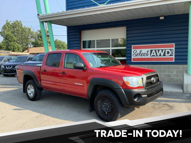 2011 Toyota Tacoma for sale at Select AWD in Provo UT