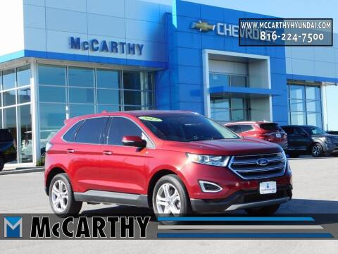 2017 Ford Edge for sale at Mr. KC Cars - McCarthy Hyundai in Blue Springs MO