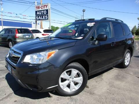 2014 Subaru Forester for sale at TRI CITY AUTO SALES LLC in Menasha WI