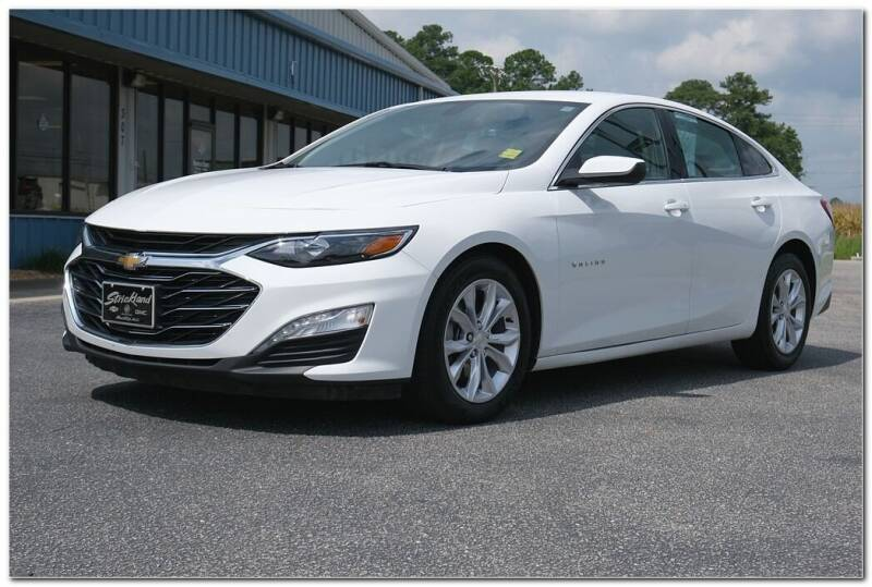 2019 Chevrolet Malibu for sale at STRICKLAND AUTO GROUP INC in Ahoskie NC