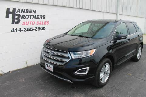 2017 Ford Edge for sale at HANSEN BROTHERS AUTO SALES in Milwaukee WI